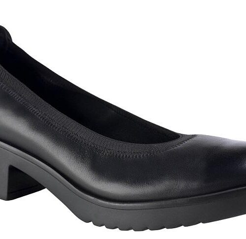 Zapato piel micro, con elástico en el contorno, antideslizante DIAN