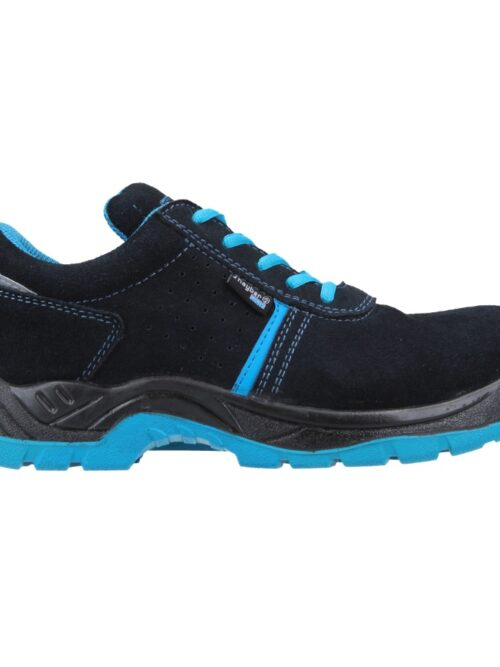 Zapato de seguridad ligero, con elementos reflectantes