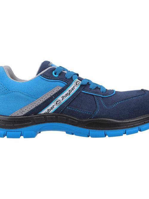 Calzado de seguridad deportivo, ligero y flexible