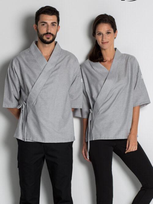 Kimono unisex cruzado m/caida DYNEKE