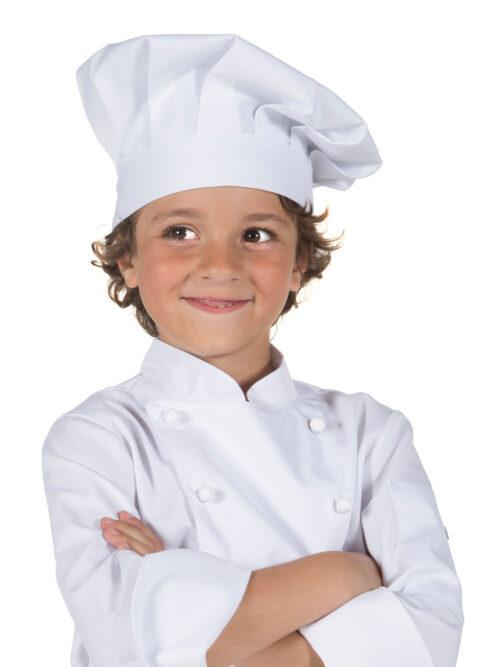 Gorro chef infantil blanco GARY'S
