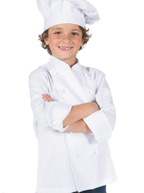Chaquetilla infantil cocina blanca GARY'S