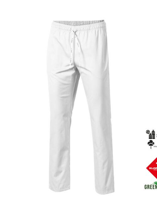 Pantalón unisex con goma y cordón de tejido orgánico y reciclado klopman