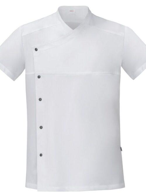 Chaqueta cocina gris comfort fit, airweb fácil planchado m/c GIBLOR'S