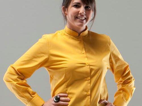 Camisa cuello mao mujer m/l ROGER'S