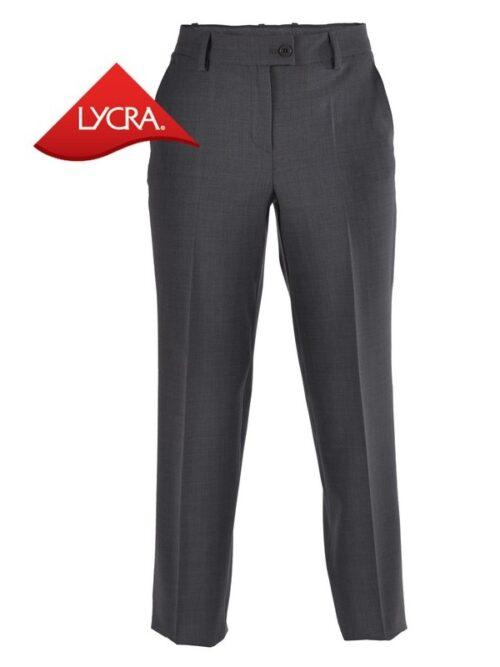 Pantalón traje señora regular fit sin pinzas y sin bolsillos TEXTIL R