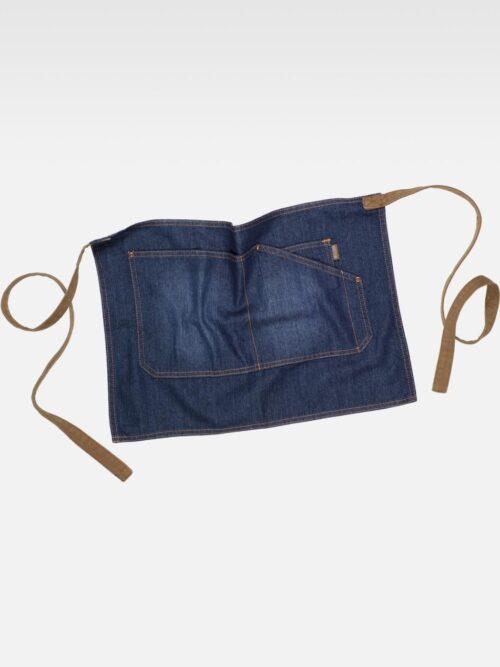 Delantal francés corto tejido vaquero WORKTEAM
