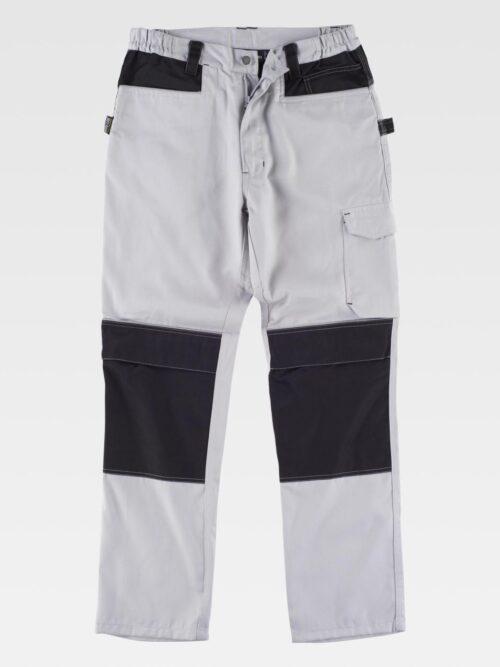 Pantalón combinado refuerzos y triple costura WORKTEAM