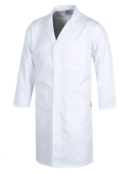 Bata blanca de laboratorio